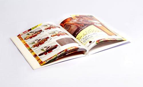 Изготовление меню для ресторанов и кафе в Санкт-Петербургу
